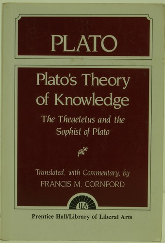 an in depth look at platos theory of knowledge Plato's most famous work is the republic, which details a wise society run by a philosopherhe is also famous for his dialogues (early, middle, and late), which showcase his metaphysical theory of forms—something else he is well known for plato also founded the academy, an academic program that many consider to be the first western university, where he stressed the importance of science.